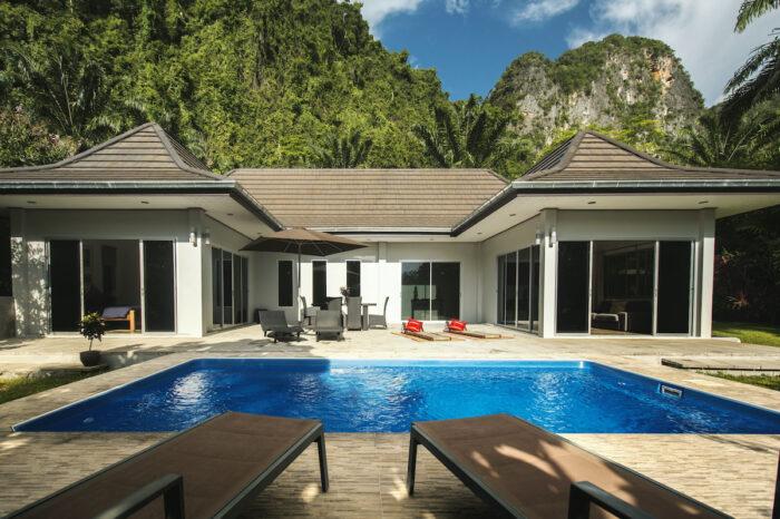 บ้านพักพูลวิลล่า Eden villa กระบี่