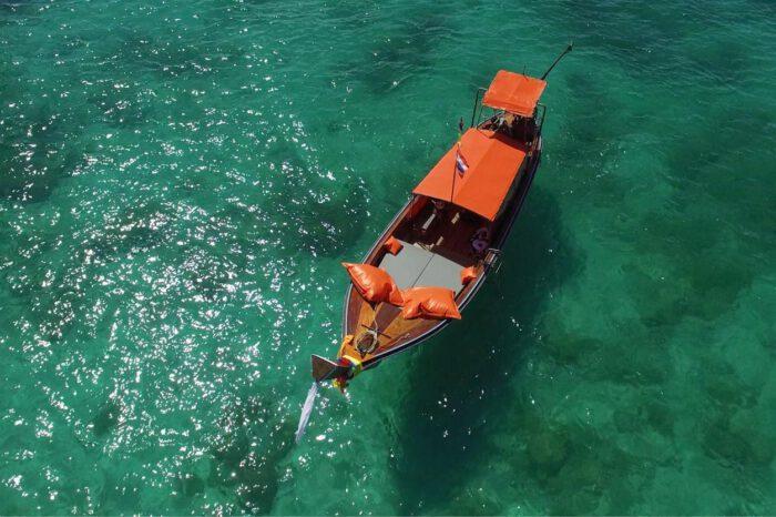เรือหางยาวกระบี่ เหมาส่วนตัว