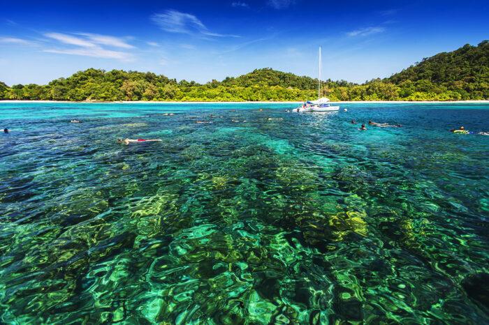 ทัวร์ดำน้ำเกาะรอก+เกาะห้า จากเกาะลันตา